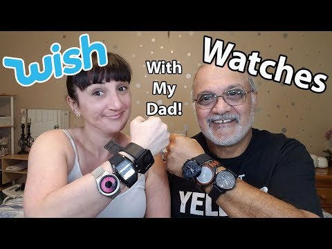 My Dad's Watches From WISH
