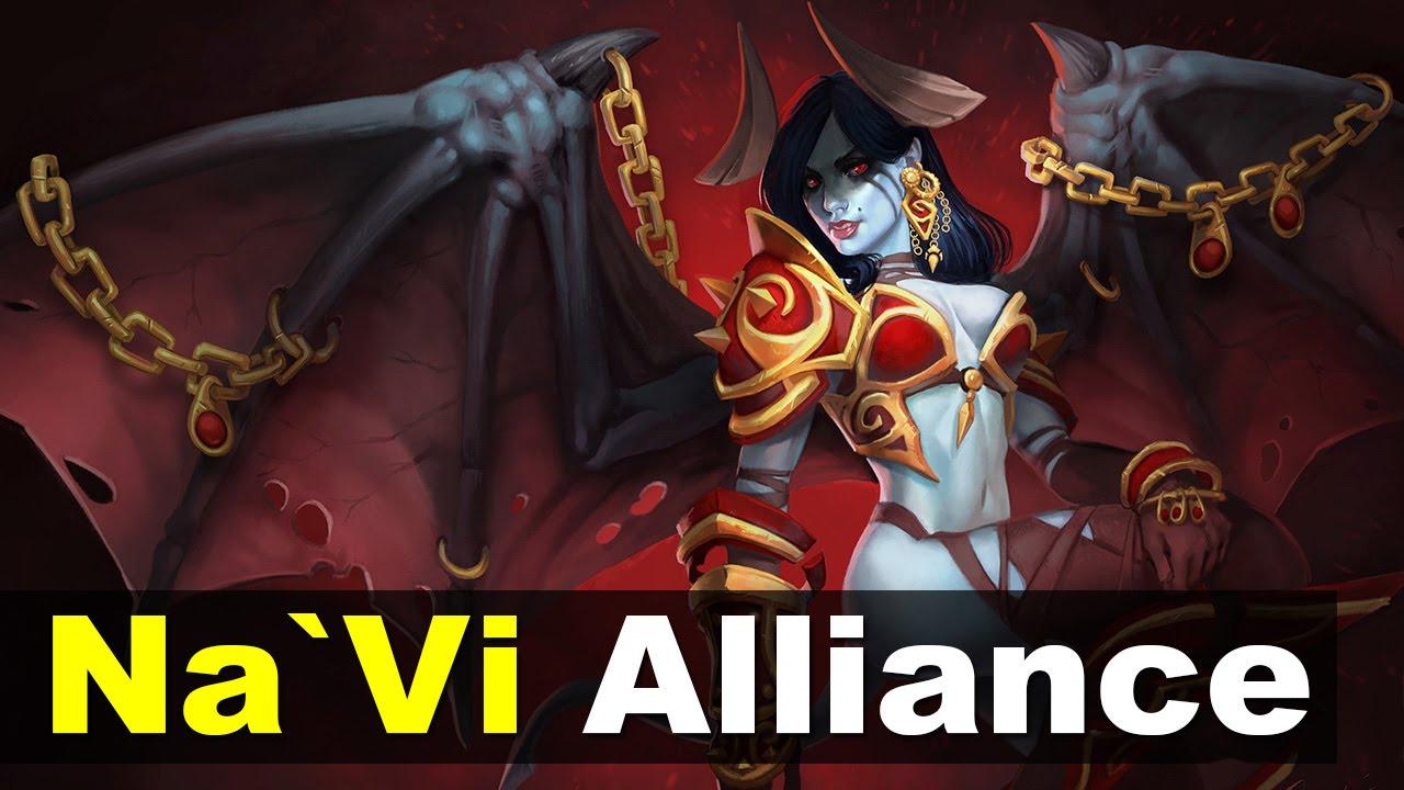 Download Na`Vi vs Alliance El Clasico - Starlader 13 Dota 2