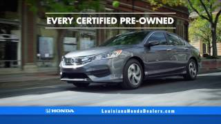 Louisiana Honda Dealers - Certified Pre-Owned Sale