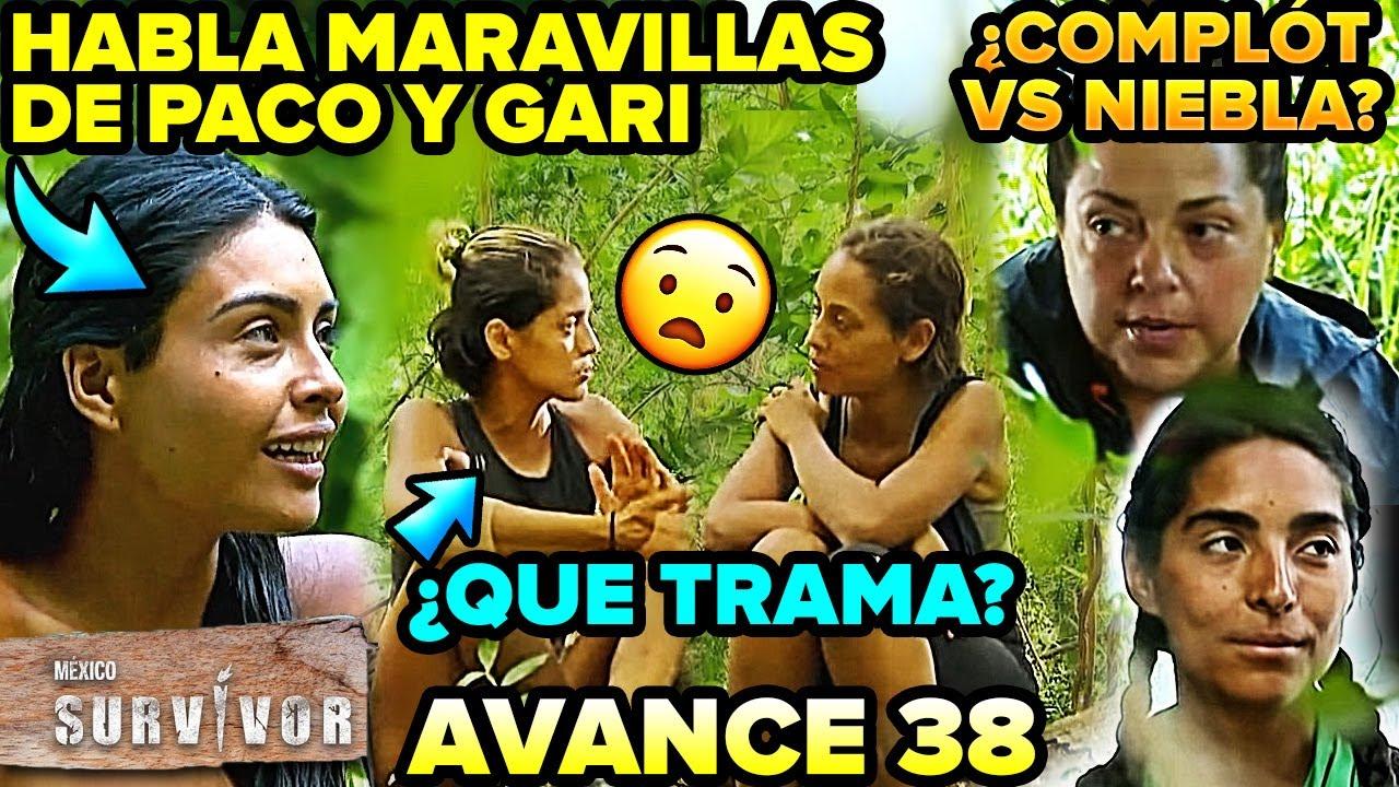 Survivor México 2. Kristal habla maravillas de Paco y Gari Capítulo 37 Avance 38 ¿Qué trama Bárbara?