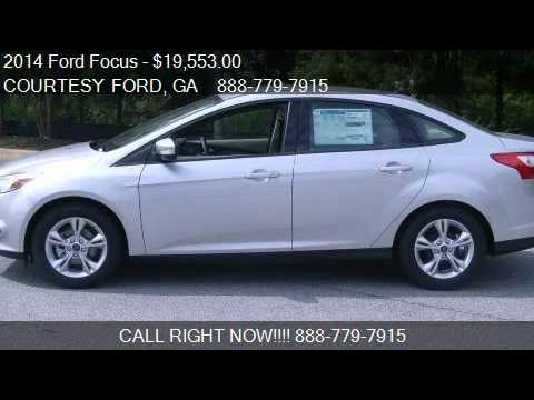 2014 ford focus 4dr sdn se for sale in conyers ga 30013 youtube. Cars Review. Best American Auto & Cars Review