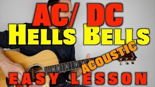 AC/DC Hells Bells Acoustic Guitar Lesson