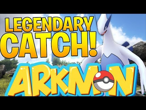 LEGENDARY OVERPOWERED LUGIA GLITCH - ARK SURVIVAL EVOLVED POKEMON MOD (ARKMON) #3 | JeromeASF