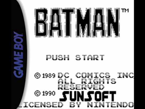 Batman Music (Game Boy) - Gotham City [Stage 1]