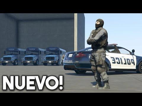 NUEVO MINIJUEGO! POLICIAS SECRETOS! - GTA V ONLINE - GTA 5 ONLINE