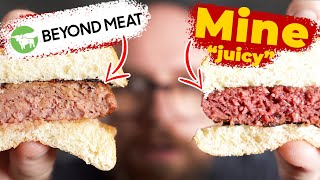 The NEW Beyond Burger is GOOD, but could be BETTER