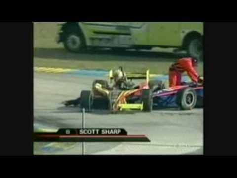 Indycar 2005 Homestead - Multi-Car crash