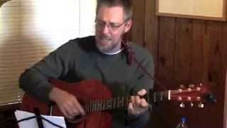 """Songwriter/singer Brian Darnell performs """"Not Just Roses"""" at Sheriar Bookstore book signing"""
