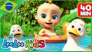 Cinco Patinhos - Música Infantil | LooLoo Kids Português