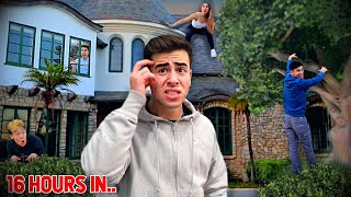 Hide And Seek In A HAUNTED Mansion - Winner Gets $10,000