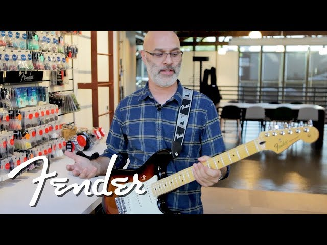 Unboxing a New Electric Guitar and How to Set It Up | Fender