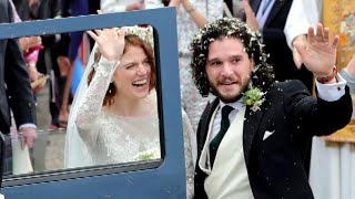 Which Game of Thrones Cast Members Made Kit Harington and Rose Leslie's Wedding Guest List?