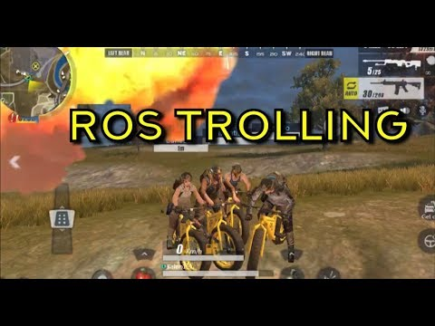 Ros Trolling Funny Moments