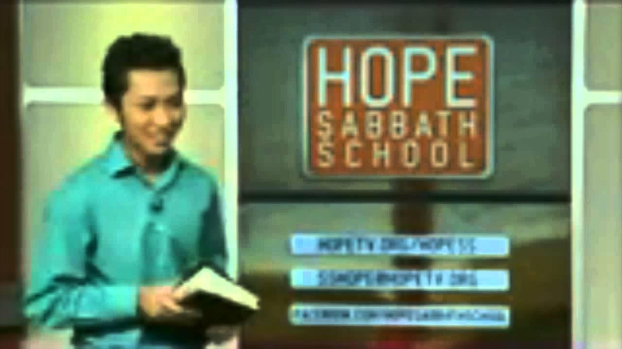 Hope Sabbath School: Lesson 5 - Christ as the Lord of the Sabbath