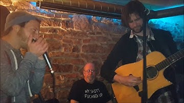 Jamming with Joe Cirotto at the Eimer, Freiburg, Germany