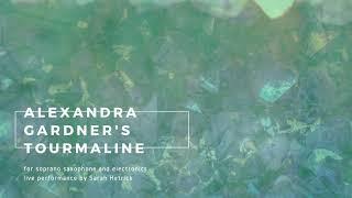 Sarah Hetrick plays Alexandra Gardner's Tourmaline