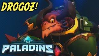 PALADINS | MY FIRST ONLINE MATCH! Drogoz Champion Gameplay! (PC)