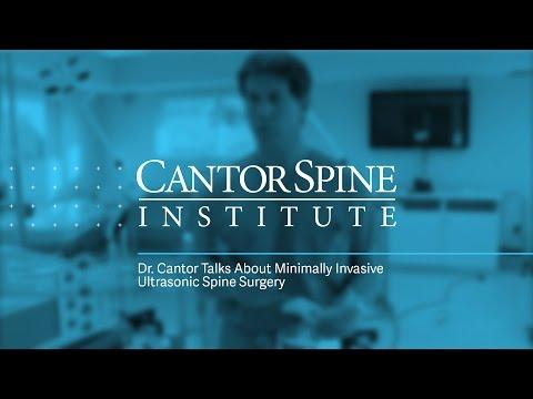 Minimally Invasive Ultrasonic Spine Surgery