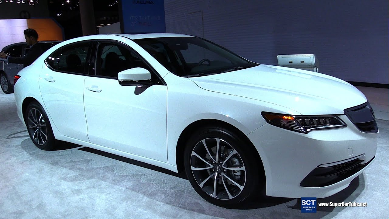 2016 Acura Tl >> 2016 Acura TLX - Exterior and Interior Walkaround - 2015 LA Auto Show - YouTube