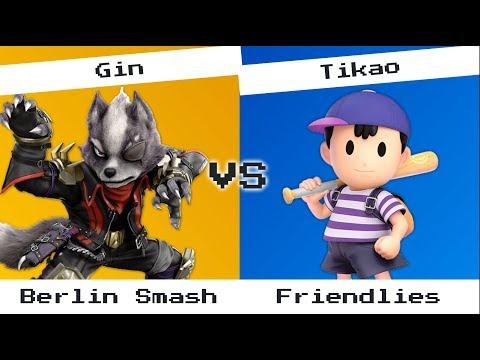 Gin (Wolf) vs Tikao (Ness) - Berlin Smash, friendlies
