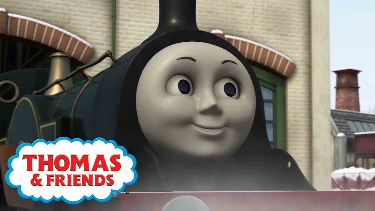 Emily the Hardworking Engine | Thomas & Friends UK | Kids Cartoon