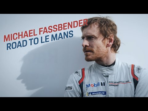 Actor Michael Fassbender stars in 'Road to Le Mans' YouTube series