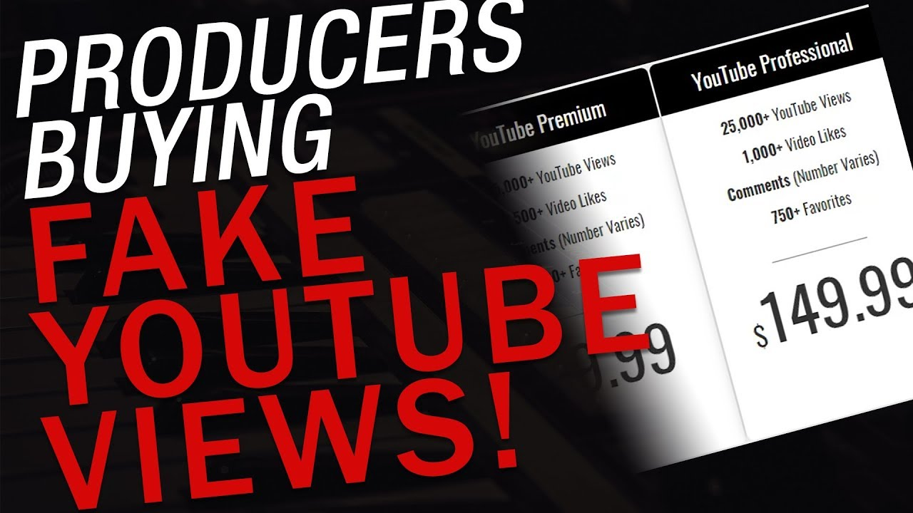 Producers Buying Fake Views: Selling Beats Online Is Dead?!