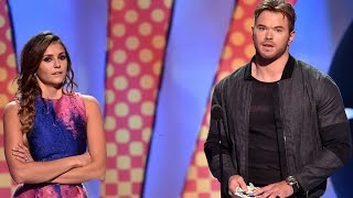 Kellan Lutz Doesn't Want to Be Part of a Nina Dobrev Rumor! - Teen Choice Awards 2014