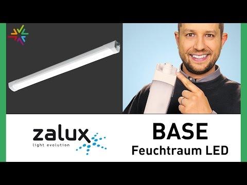 ZALUX BASE - Die innovative absolut dichte LED Feuchtraumleuchte mit IP66