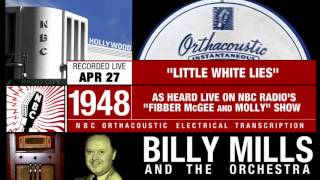Fibber McGee & Molly hall closet OTR radio gag & Little White Lies / Billy Mills Orchestra (1948)
