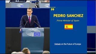 Debating the Future of Europe with Pedro Sanchez