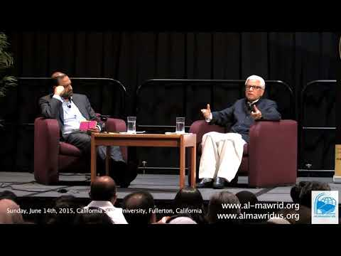Q&A California State University Fullerton Islam Muslim World: Challenges-2015, Javed ahmed ghamidi