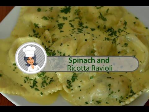 Spinach And Ricotta Ravioli By Domenico's Pizza & Pastaria