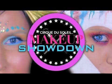 Can a MAC Cosmetics Guru Beat a Cirque Makeup Artist?!   MAKEUP SHOWDOWN #5   Cirque du Soleil