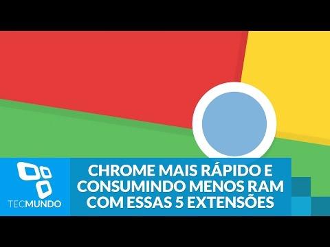 Deixe Seu Chrome Mais Rápido E Consumindo Menos RAM Com Essas 5 Extensões