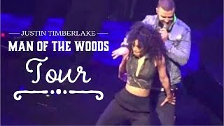JUSTIN TIMBERLAKE - Man of the Woods Tour - Full Concert at Prudential Center, NJ