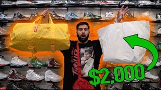 * MUST SEE* THE WORLDS BEST SNEAKER SHOP?? (SPENDING $2,000)