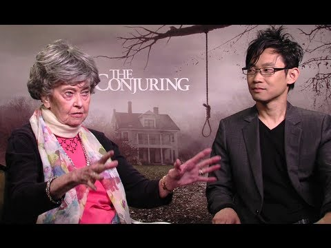 Lorraine Warren & James Wan Interview - The Conjuring (JoBlo.com)