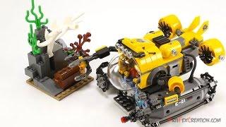 Лего Сити - собираем Батискаф Обзор и распаковка LEGO