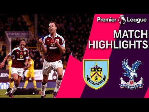Burnley tops Crystal Palace in 3-2 thriller