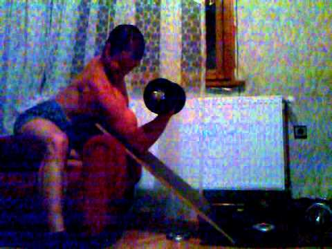 Home made preacher bench curls at 80 kg - YouTube  Preacher Curls At Home