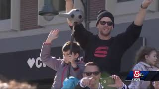 Top moments from Patriots Super Bowl victory parade