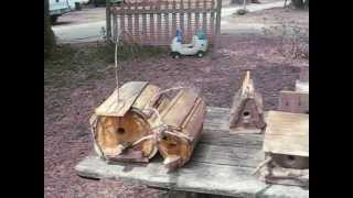 Hand Made Wood Tables And Bird Houses From Alabama - Jay Bartels Exclusive
