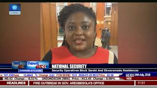 Security Operatives Block Saraki,Ekweremadu Residences