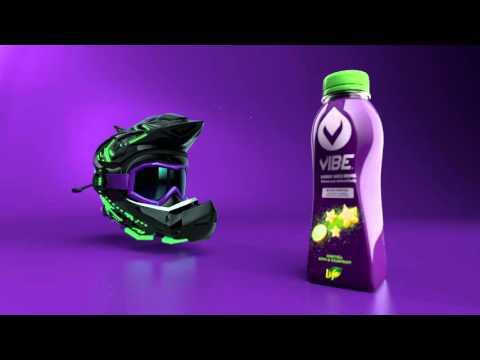 VIBE ENERGY JUICE DRINK (Helmet)