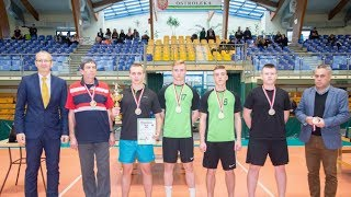 Drużynowe Mistrzostwa Ostrołęki w Tenisie Stołowym Mężczyzn
