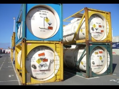 Hazardous Waste Materials: World's Dangerous Cargo - Classic Science