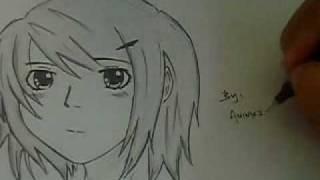 How to draw anime girl using artline pen