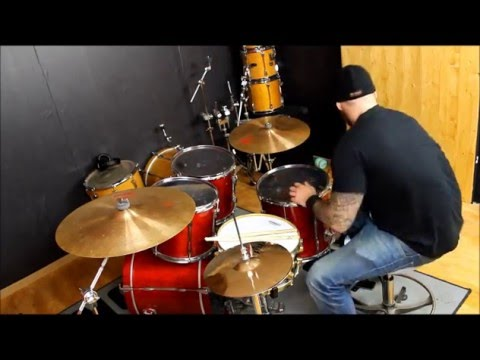 Premier xpk 1992 - drums made in England