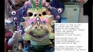 Cartoon Monster Music (Free To Use, Public Domain, Soundtrack Halloween, Campy 60s Style spooky)